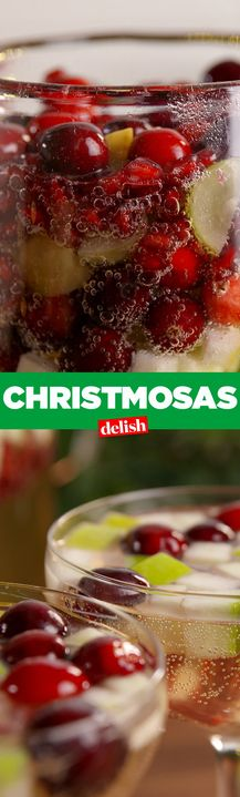 Christmosas are the most magical concoction for Christmas morning. Get the recipe from Delish.com.