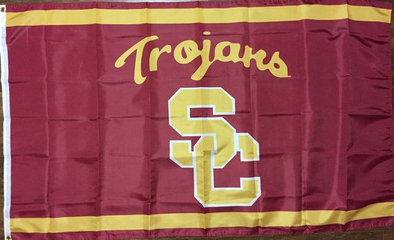USC Trojans University of Southern California Flag Banner 3 x