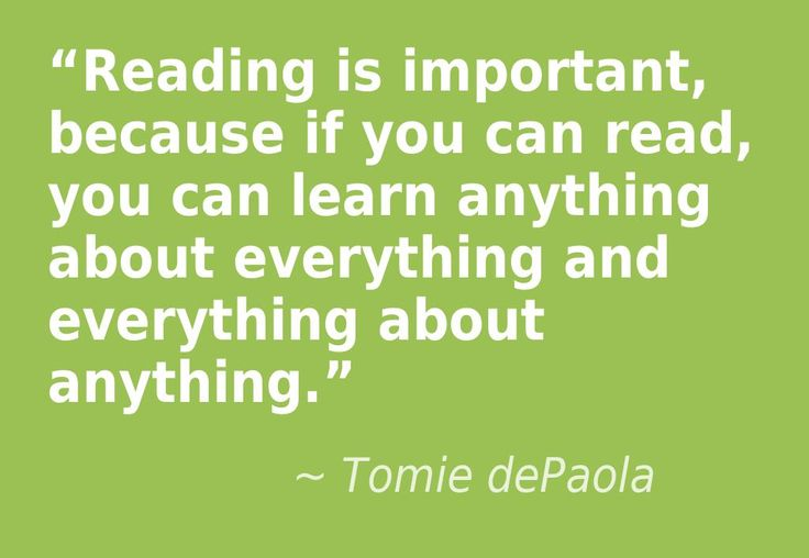 Image result for quote about why reading is important