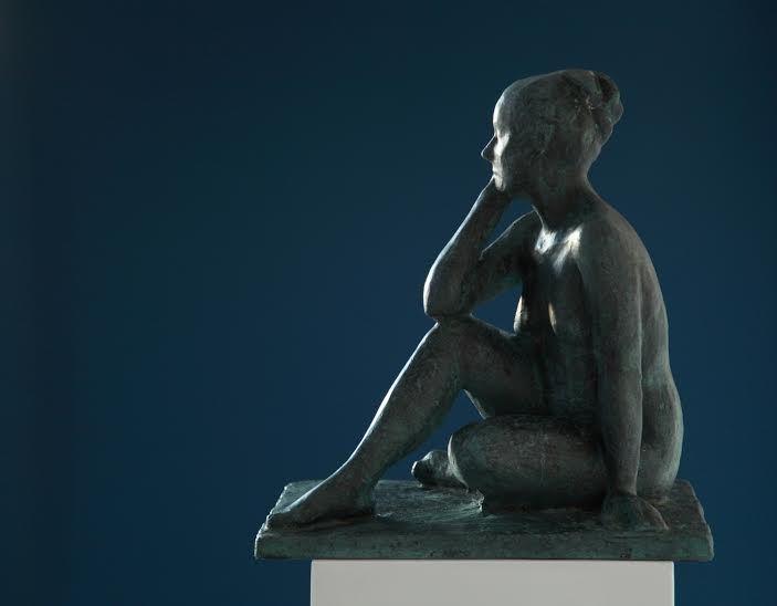 Sculpture: Helene   Dancers   Woman  Artist: Noor Brandt