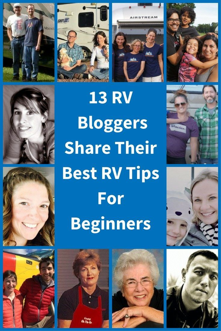 Find out what are the best RV tips for beginners from this expert roundup. Click to read the advice of 13 experienced RV bloggers.