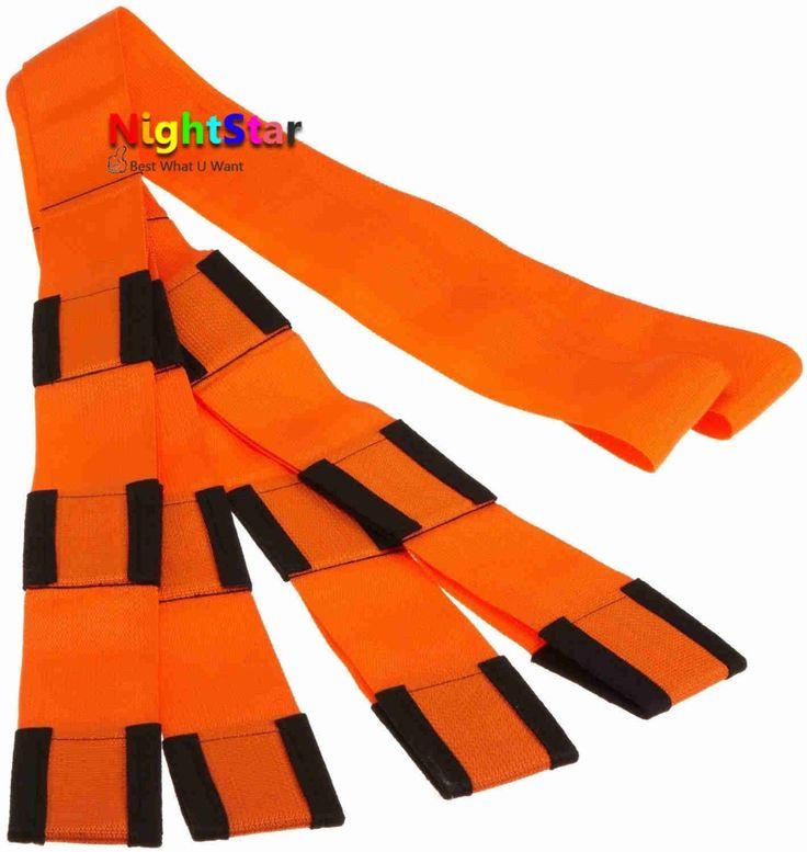Orange moving touw bandjes onderarm hefwerktuigen en bewegende meubels 9ft nieuwe