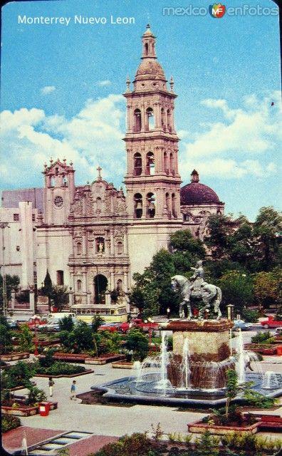 Fotos de Monterrey, Nuevo León, México: La Iglesia Hacia 1970