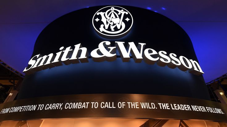 Smith & Wesson Holding Corp. is asking its shareholders to approve a change in the company's name to American Outdoor Brands Corp. Its guns will keep their famous name.