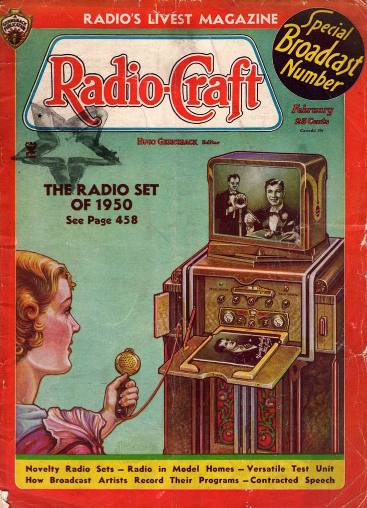 The Depression-Era TV of Tomorrow Had Home Shopping--And a Like Button