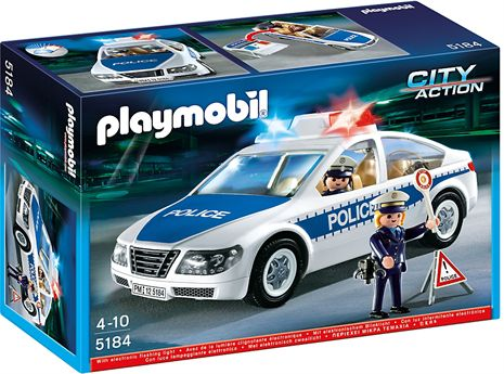 Kjøp Playmobil Politi, Politibil - fra Lekmer.no