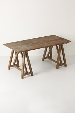 17 best images about sawhorse tables on pinterest Sawhorse desk legs