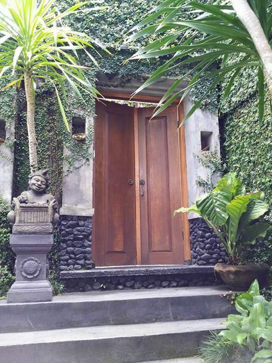 Bali Entrance Dengan Gambar Ide Pagar Eksterior Desain