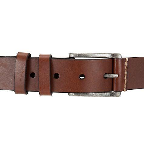 Buy John Lewis Leather Belt Online at johnlewis.com £25