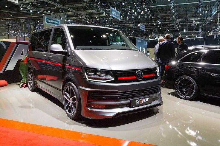 2016 ABT Sportsline Volkswagen T6  #2016MY #ABT #Volkswagen #tuning #Volkswagen_Transporter #Segment_M #Volkswagen_T6 #German_brands #Geneva_2016