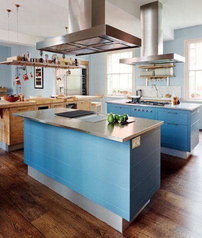 Eiken Keukenkasten en Eiland