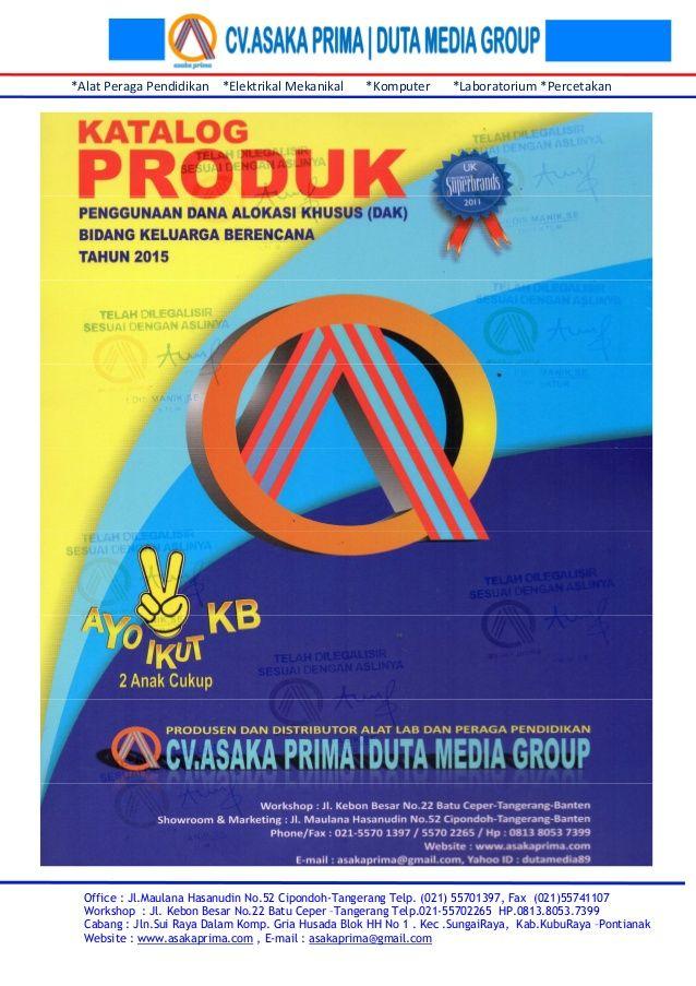 Katalog panjang dak bkkbn 2015