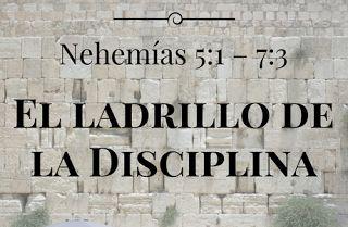 """EL LADRILLO DE LA DISCIPLINA (Nehemías 5:1  7:3)    Dr. Eric Pennings  Extraído de """"Nehemías: Ladrillos del Liderazgo Bíblico""""  Comentario Sobre La Historia De Jerusalén  La ciudad de Jerusalén es el enfoque del libro de Nehemías.Jerusalén no siempre era el nombre de la ciudad. Alrededor de 1400 AC se llamaba Urusalim que significa ciudad de paz. Pero la realidad es que la historia de la ciudad de Jerusalén ha sido más de lucha que de paz. Hasido conquistada y reconquistada destruida y…"""