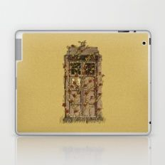 Tardis roses Laptop & iPad Skin