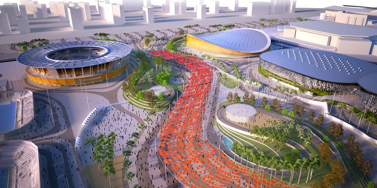 The Designs For The 2016 Olympic Park In Rio De Janeiro Look ...