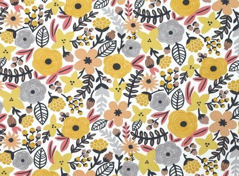 Sarawak Dijon - Sarawak : Upholstery Fabrics, Prints, Drapes & Wallcoverings