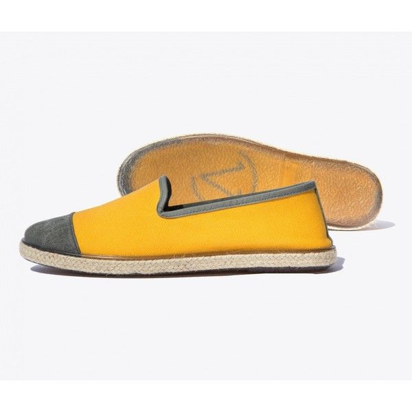 Angarde Cotton Espadrilles ($65) ❤ liked on Polyvore featuring shoes, sandals, yellow, woven sandals, water proof shoes, waterproof sandals, braided sandals and urban shoes