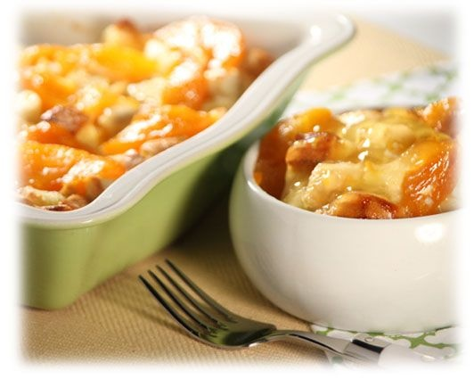 Peach Bread Pudding - I have leftover french bread - i am trying this recipe tonight. sounds good with ice cream ( and using my homemade canned peach filling from last season.