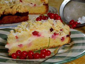 Ribisel-Topfen-Kuchen mit Streusel von Rocky73 | Chefkoch