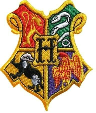 Harry Potter Patch Hogwarts School Crest Fully by PatchEire