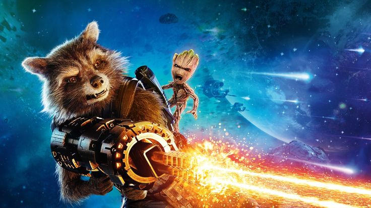 Rocket Raccoon, Guardians of the Galaxy Vol 2, Bradley Cooper, 4K, 8K