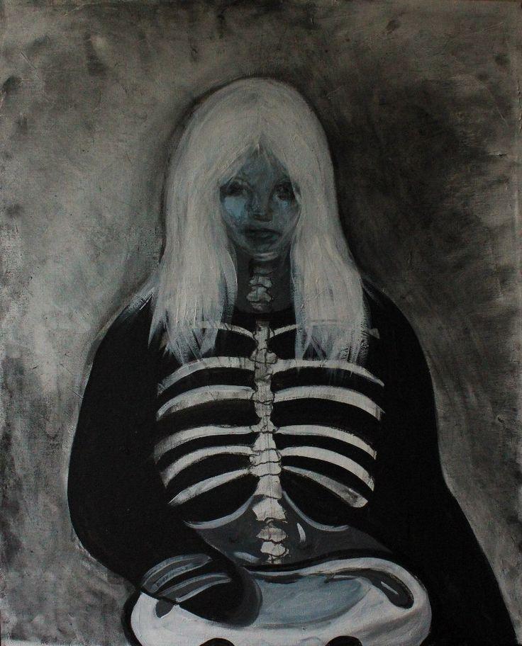 Gushtyuk Julia acrylic on canvas Nothing