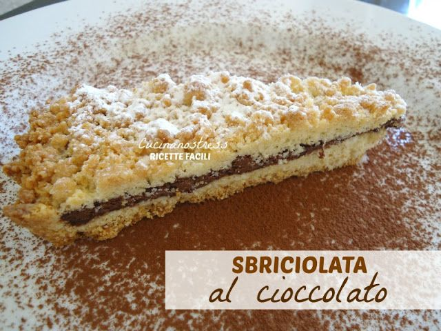 Cucinanostress  : SBRICIOLATA AL CIOCCOLATO