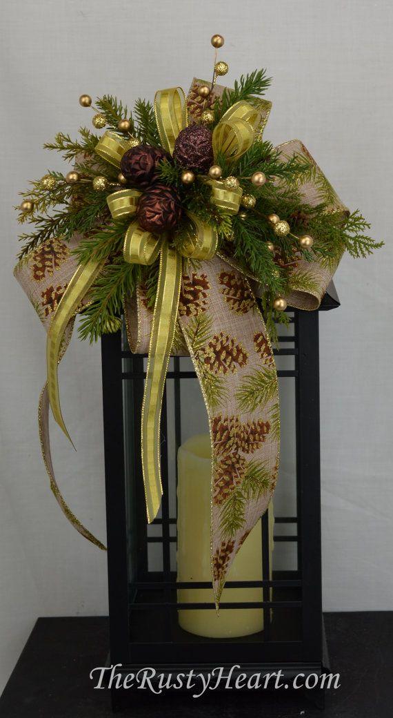Navidad botín botín de la linterna Navidad linterna botín