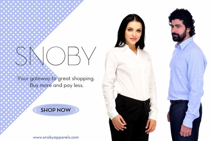 Expect More and Pay Less! #Shop for comfortable men's and women's professional attire. Click to find out more: http://ow.ly/YDK7Z