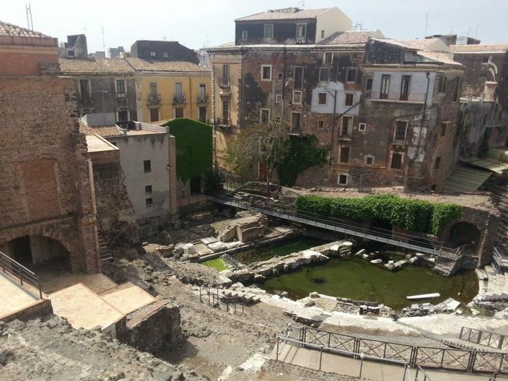 By italia For Tourists #InvasioniDigitali #teatrogrecoromano #Catania #sicilia