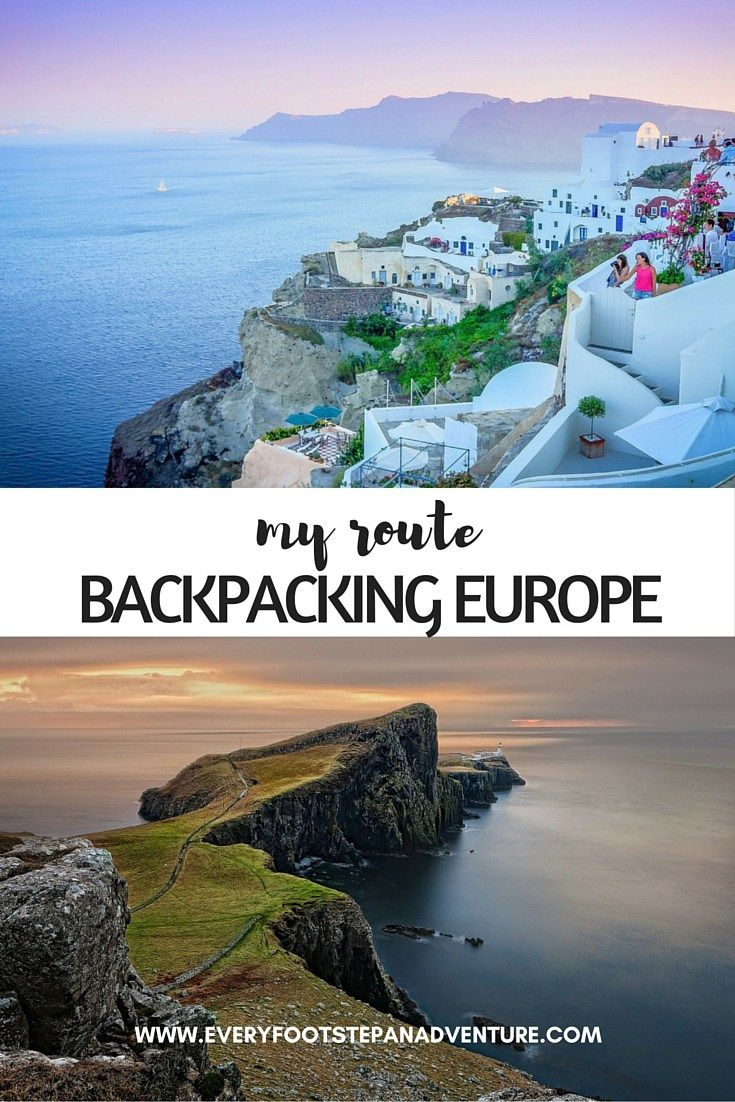 After months of browsing for cheap tickets, I finally made my trip official and booked a plane ticket out of Canada. Here's my route backpacking Europe!