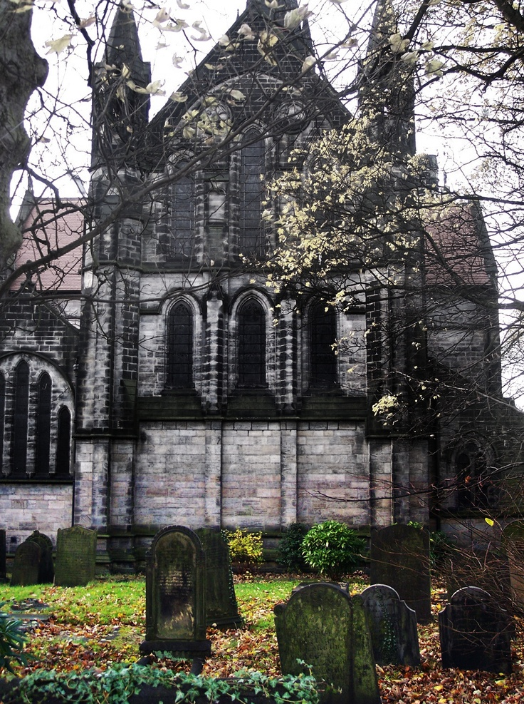 St Michaels Church, Headingley, Leeds - I didn't live in the Church evidently, but could see it from my bedroom window.