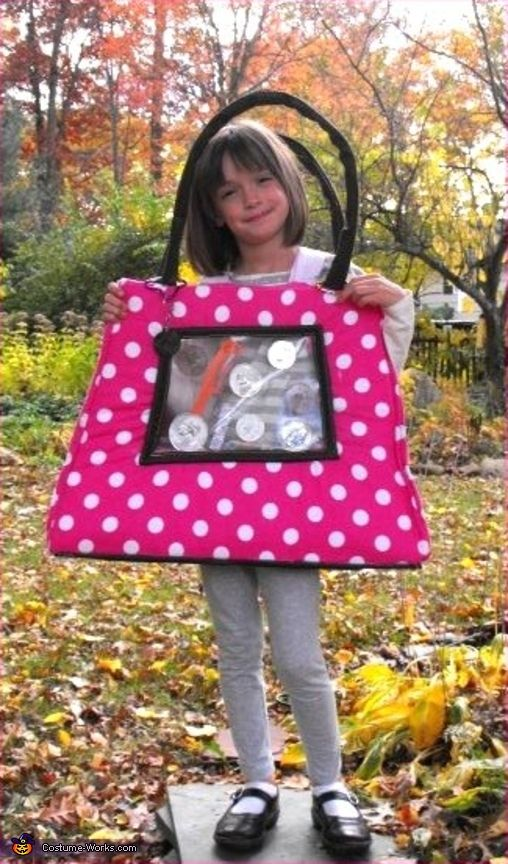 """Purse - Homemade costumes for """" LILLIE'S PURPLE PURSE"""""""