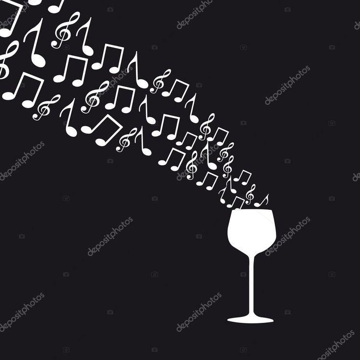 Descargar - Copa de vino — Ilustración de stock #9709957