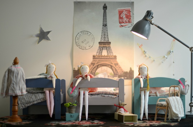 dolls bedroom by minina loves