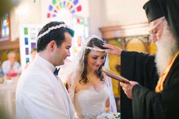 Greek Orthodox wedding in Kefalonia, Greece. With Stella and Moscha Weddings and photo by Adrian Wood