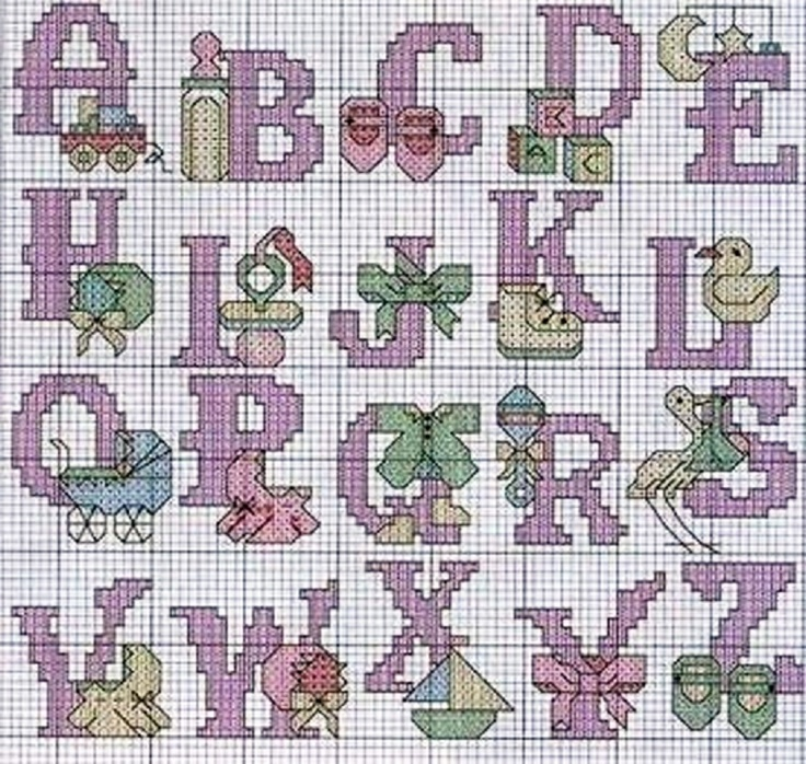 Baby Cross Stitch