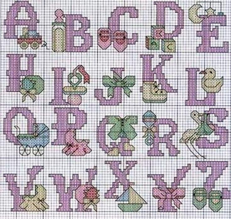 Infants alphabet 1