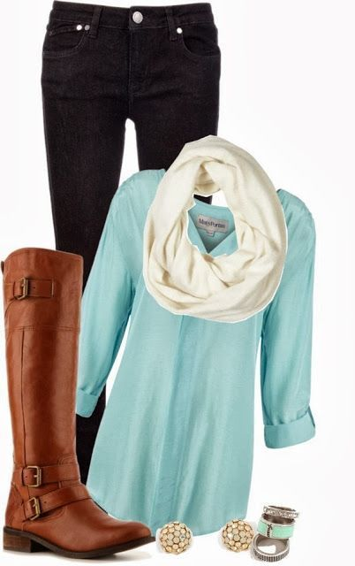 Dear Stitch Fix stylist, I LOVE this outfit for fall! I already have the brown boots. Just need some black denim and a cute tunic!