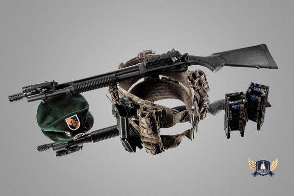 Remington 870 Express Tactical Black Warrior