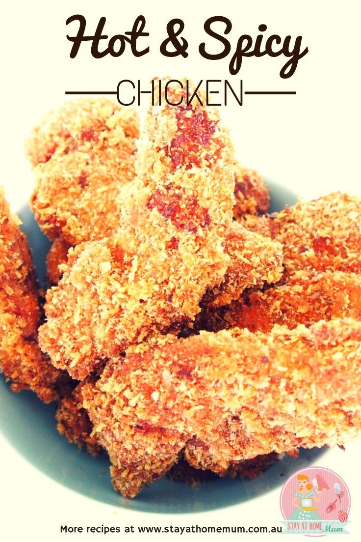 Homestyle Hot & Spicy Chicken | Stay at Home Mum #Spicy #Chicken