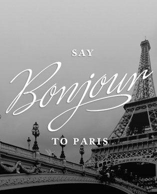 : Hello Paris, Paris Chic, Eiffel Towers, Dreams Vacations, France, Color Purple, Paris Plant, French, Parisians Quotes