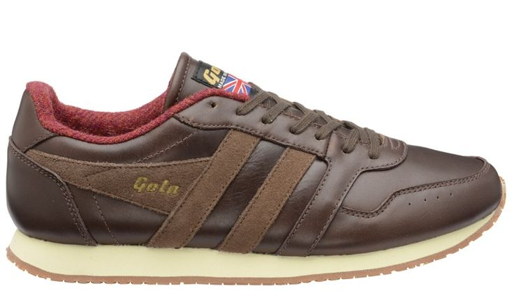 Gola Track 1905 Brown trainers - made in the UK shoes