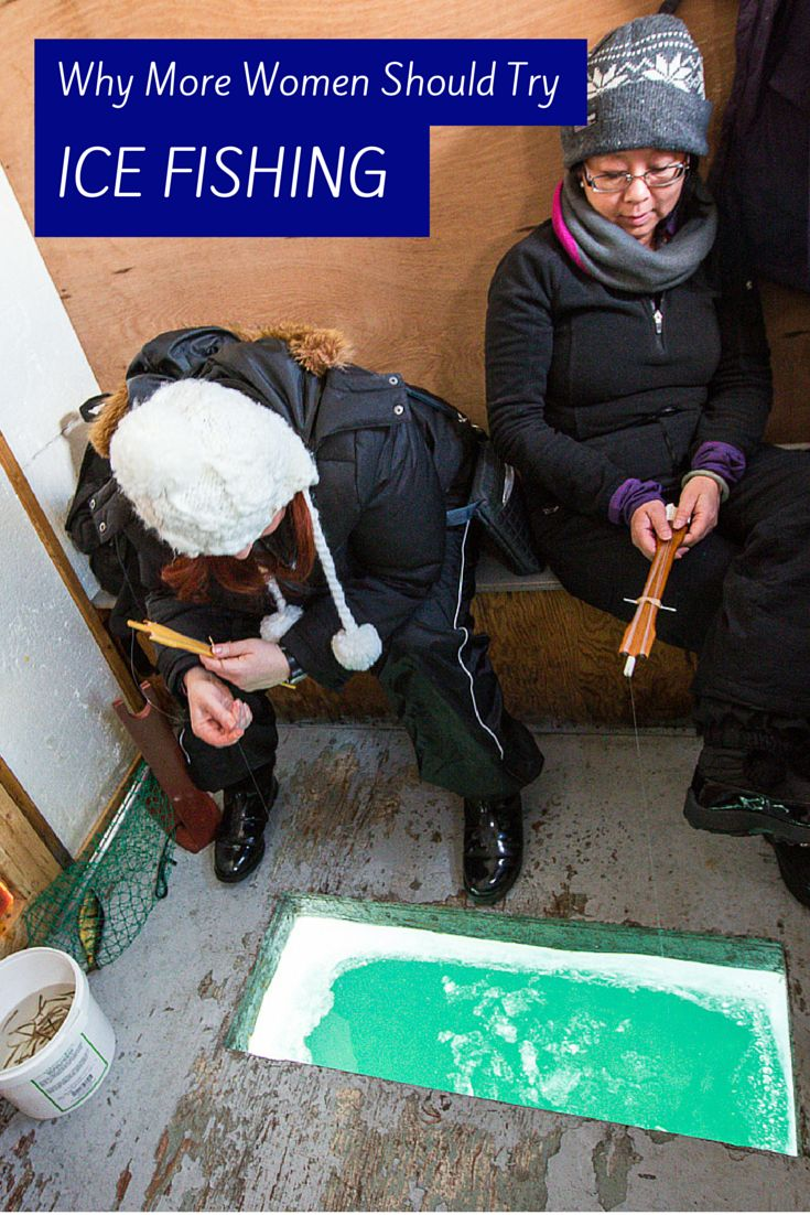 Four city women go ice fishing for the first time. Find out how it all turned out.