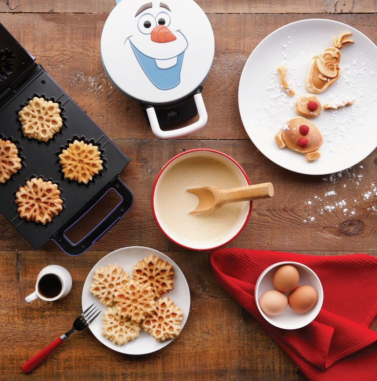 Now your kids can enjoy breakfast with Olaf whenever they have a craving for waffles.