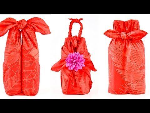 【ふろしき活用術】ねじりすいか包みでお弁当を包む - 街ログ - YouTube