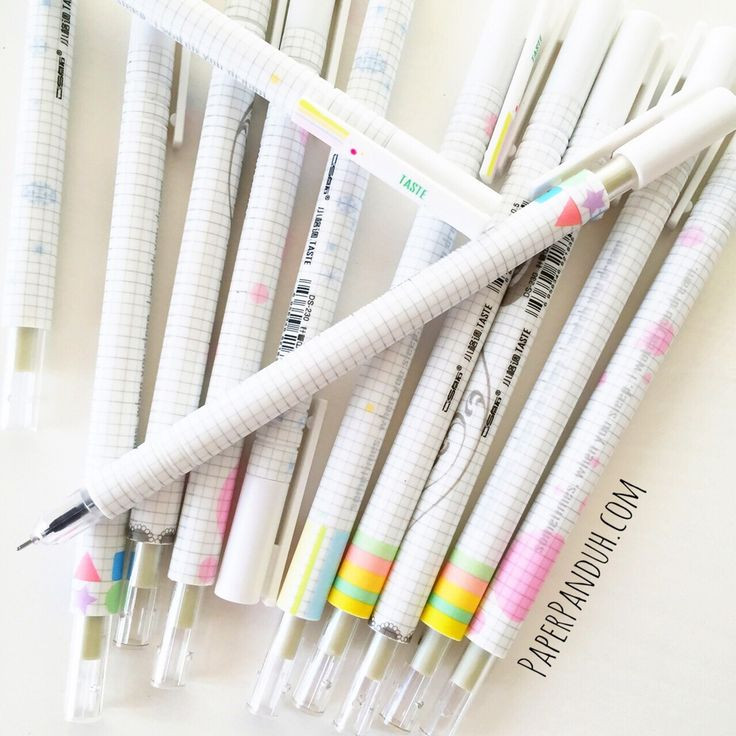 Grid Fine Tip Planner Pen - www.PaperPanduh.com