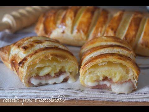 Rustico filante patate formaggio e prosciutto