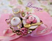 """Bague """"sweet Lolita """" sakura : Bague par lorenza sur ALittleMarket"""
