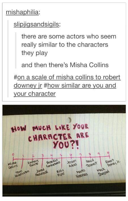LOL, totally makes sense! The Mark Sheppard one made me laugh like a maniac.